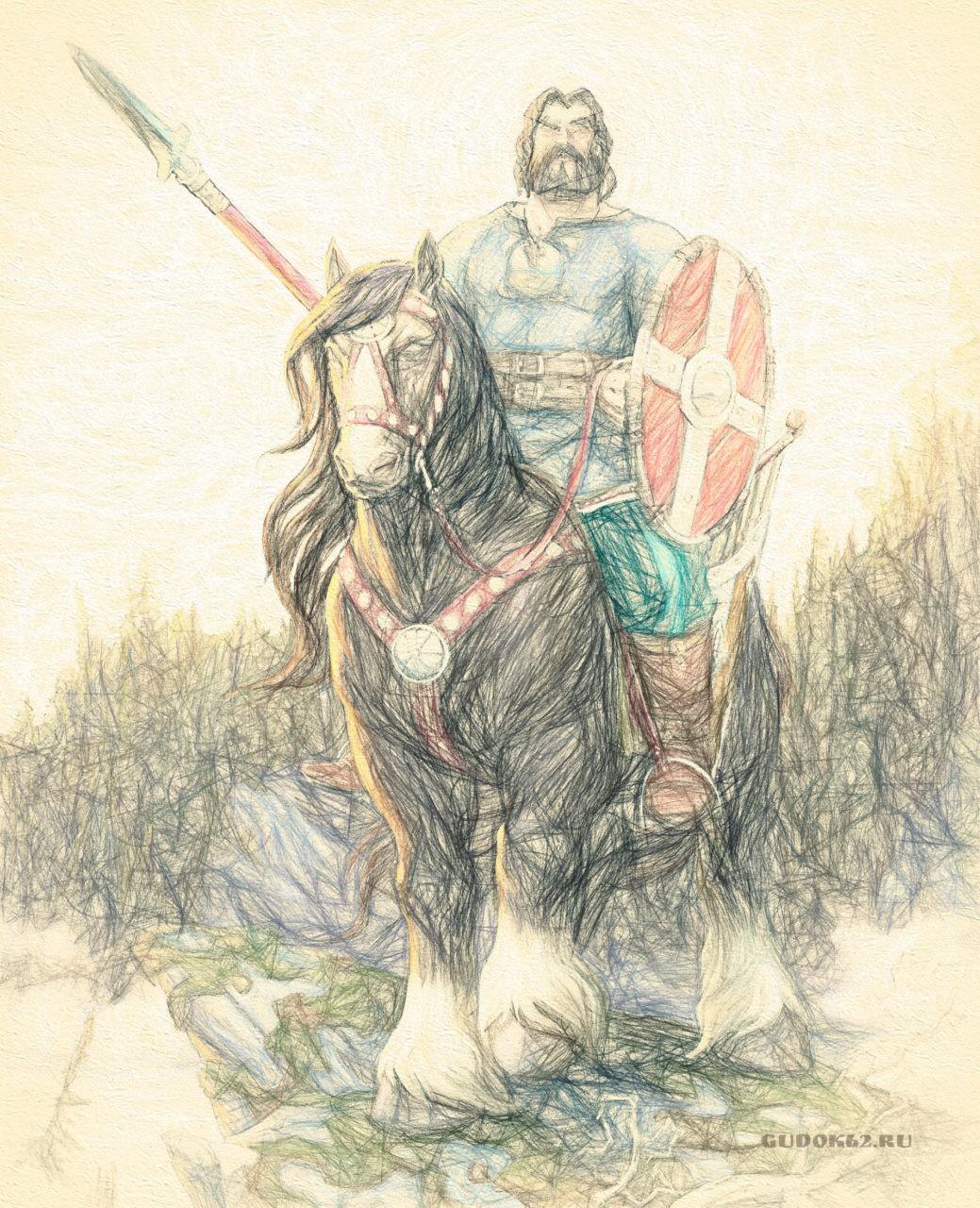 Рязанский богатырь великан