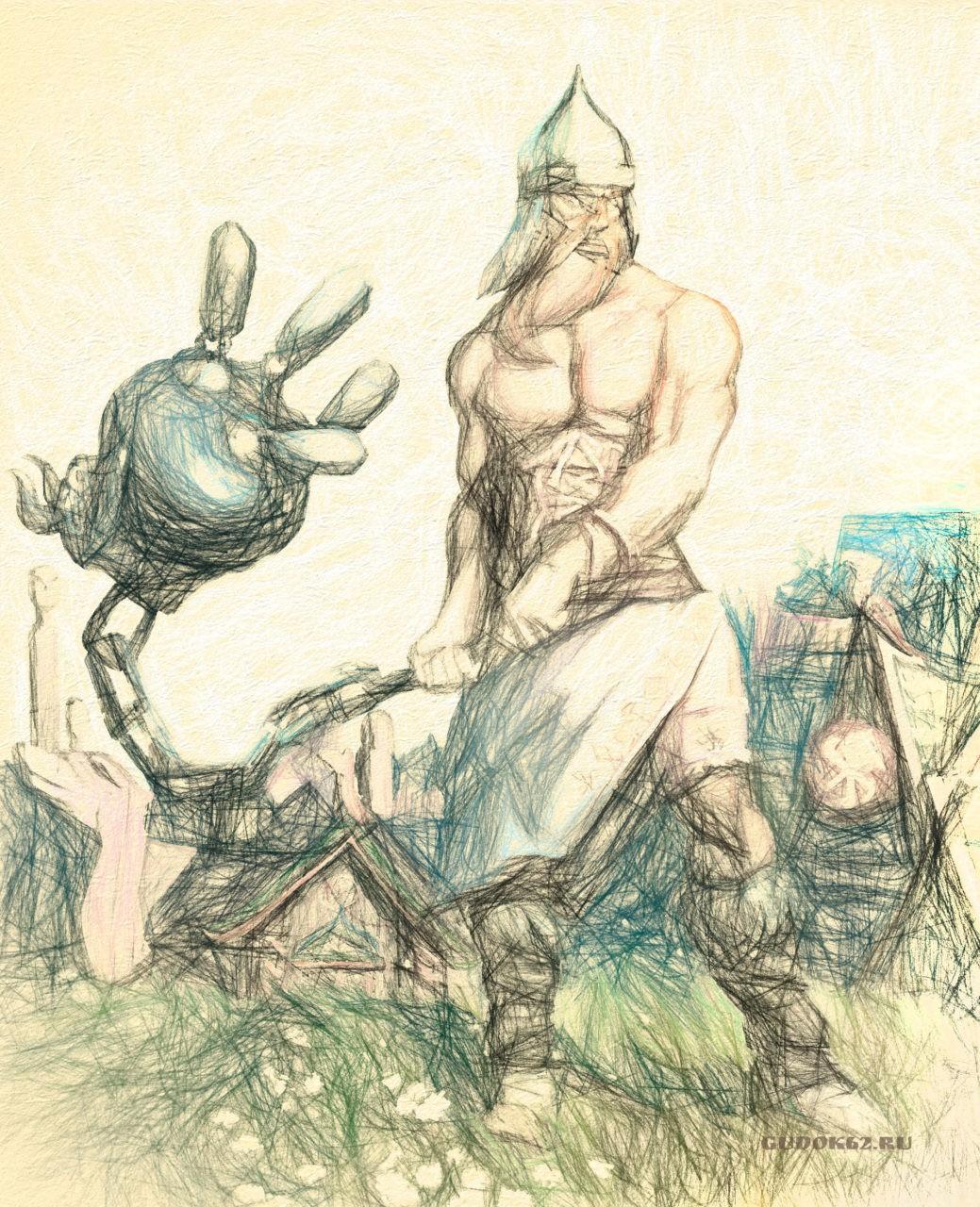 Где жили Рязанские великаны: Усыпальница Добрыни