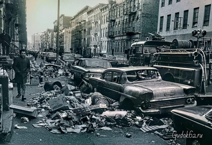 Забастовка мусорщиков Нью-Йорка