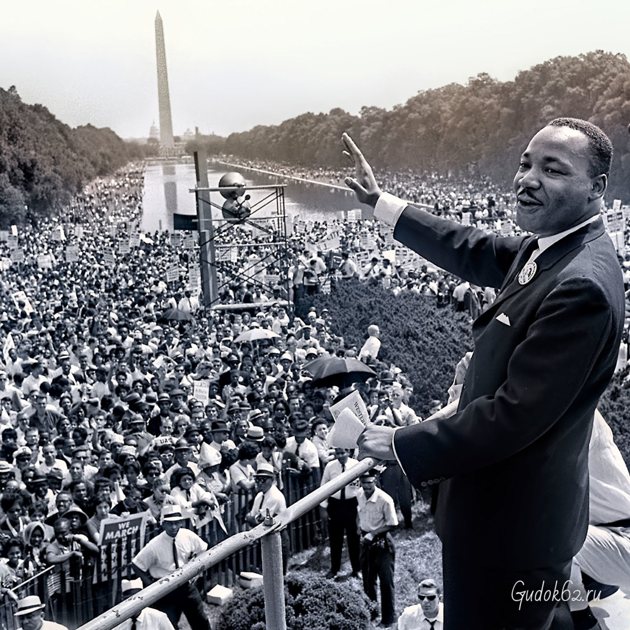 В Нью-Йорке бастуют мусорщики, Мартин Лютер Кинг незадолго до убийства