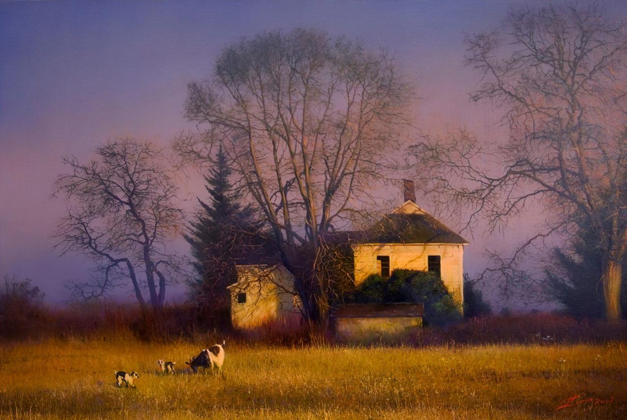 Гиперреализм в пейзажах Сорина Сорина