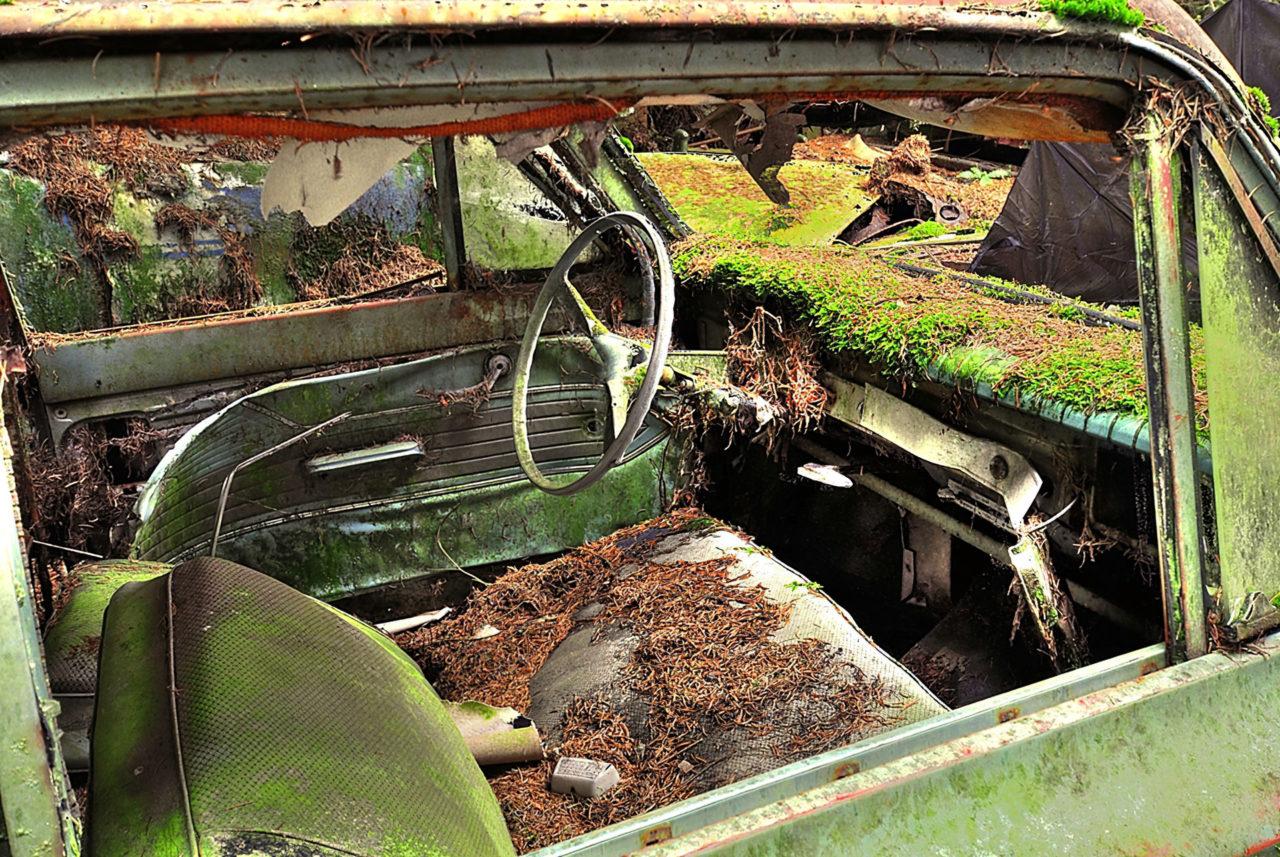 Бельгийское кладбище автомобилей
