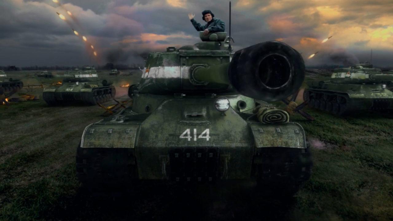 Поздравление с Днём Победы от Мураками и игроделов